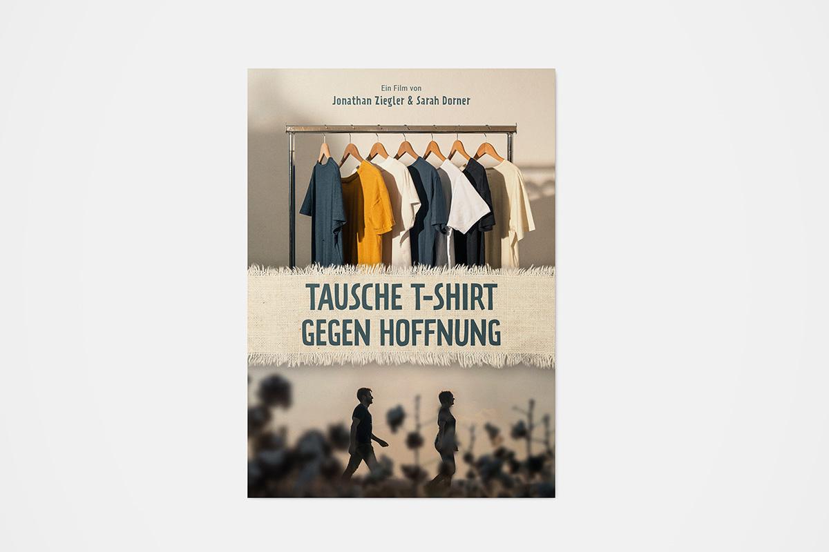 Tausche-TShirt-gegen-Hoffnung-Poster