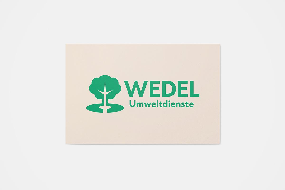 Wedel-Umweltdienste-Logo